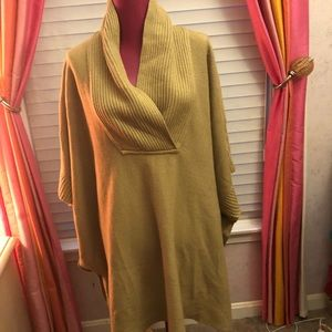 vintage Over sized poncho sweater from H&M